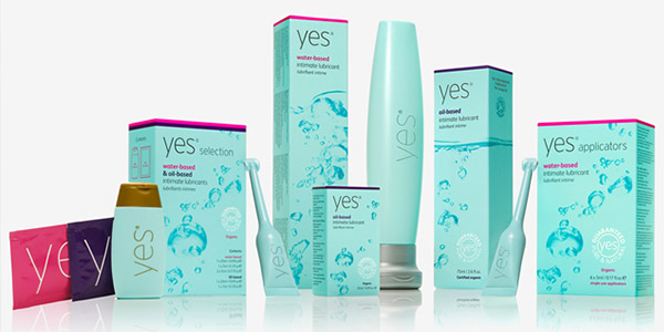 A Range of Yes Water based Products