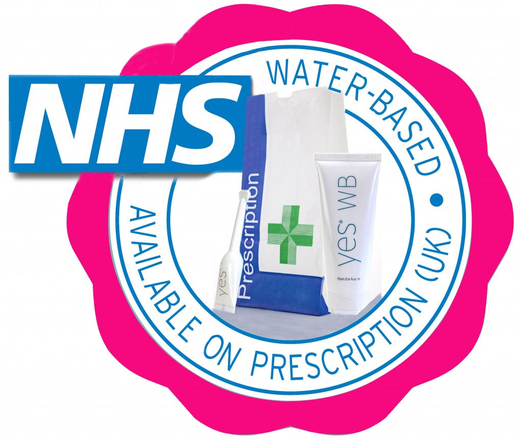 YES is on UK prescription for vaginal dryness