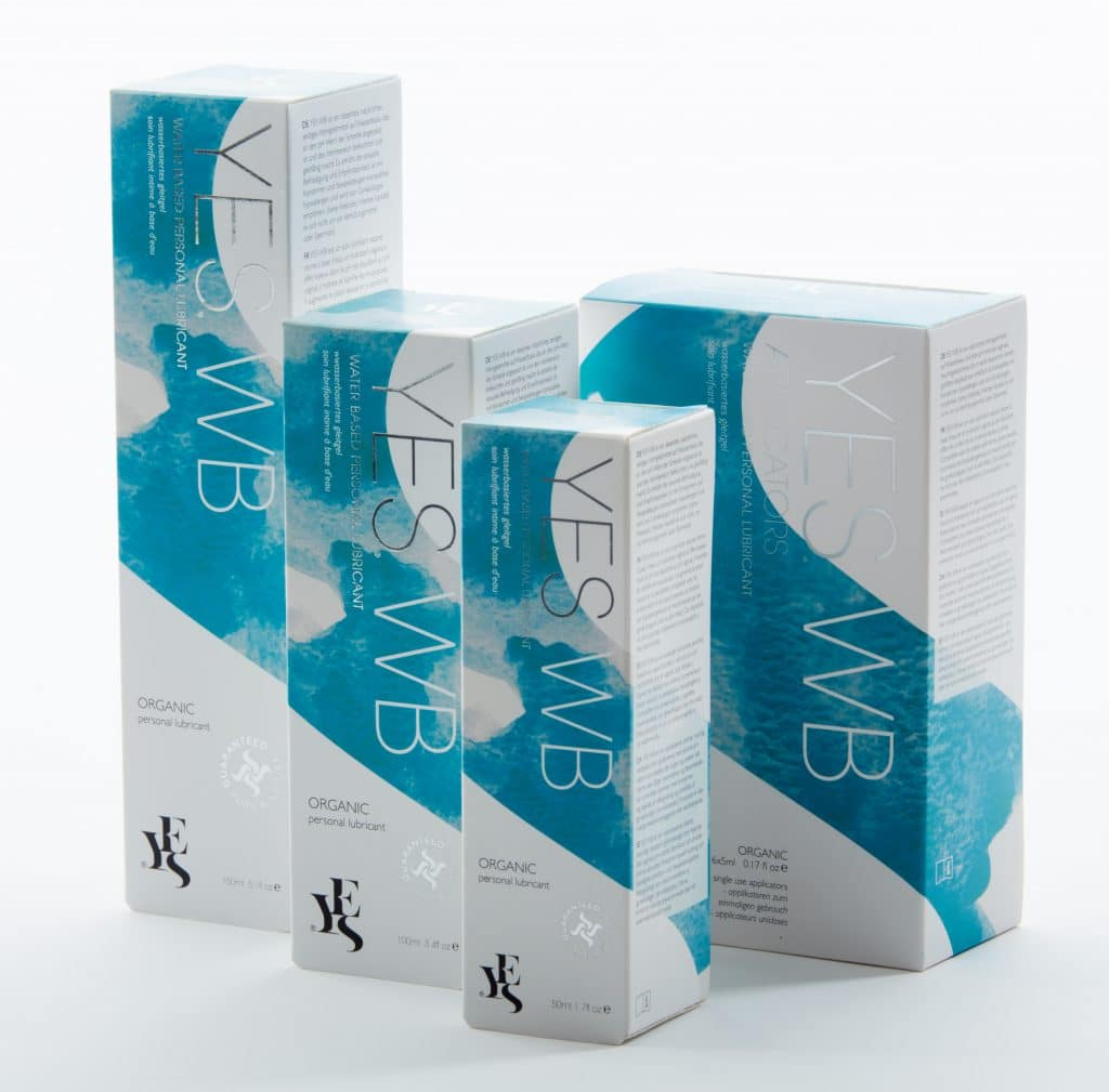 yes water based organic lubricant products