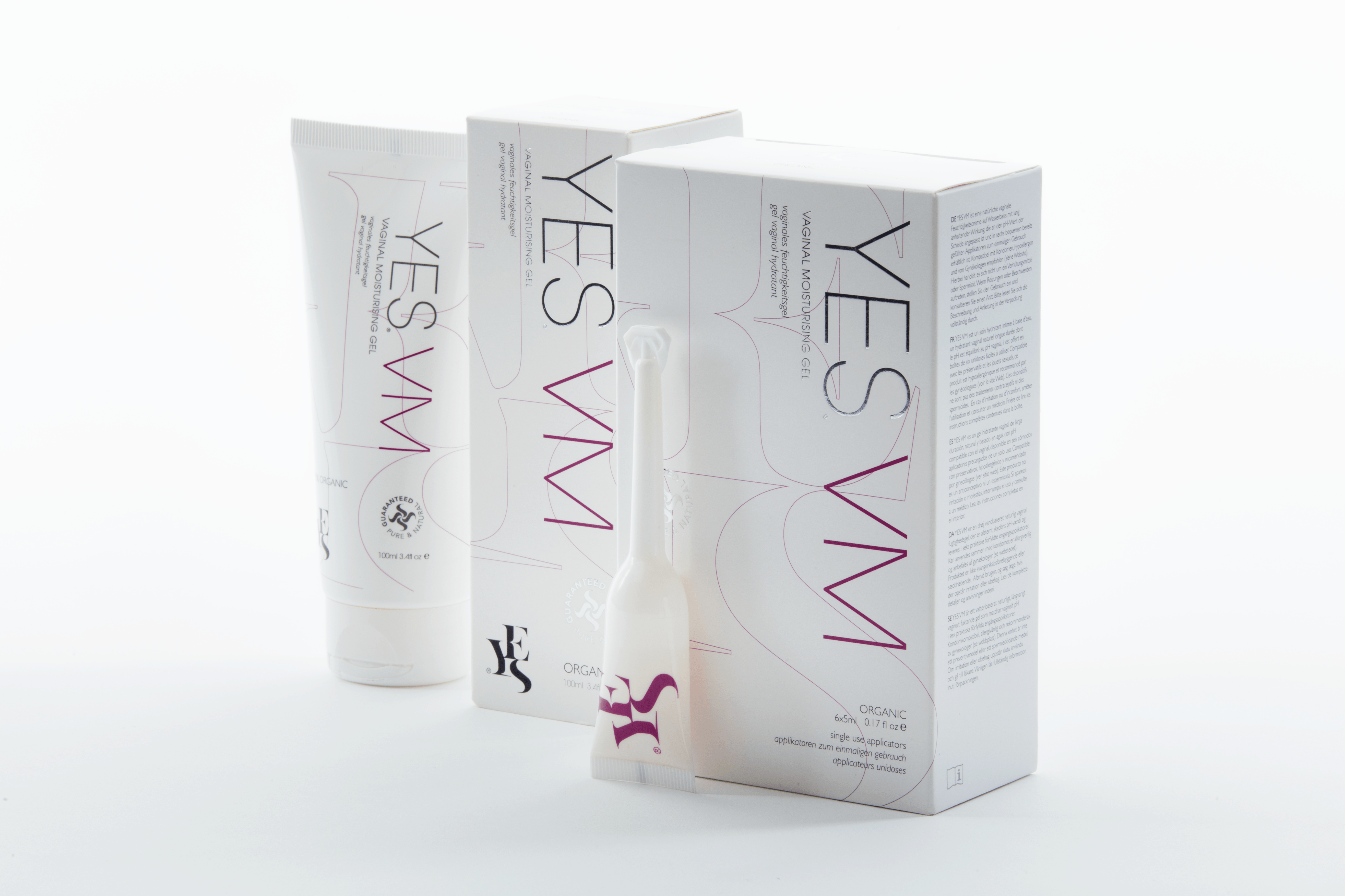 product image of yes vaginal moisturising gel