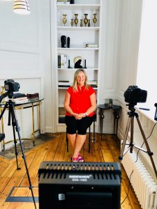 Lynn Buckley interviewed for Eve Appeal