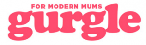 for modern mums gurgle logo for YES feature
