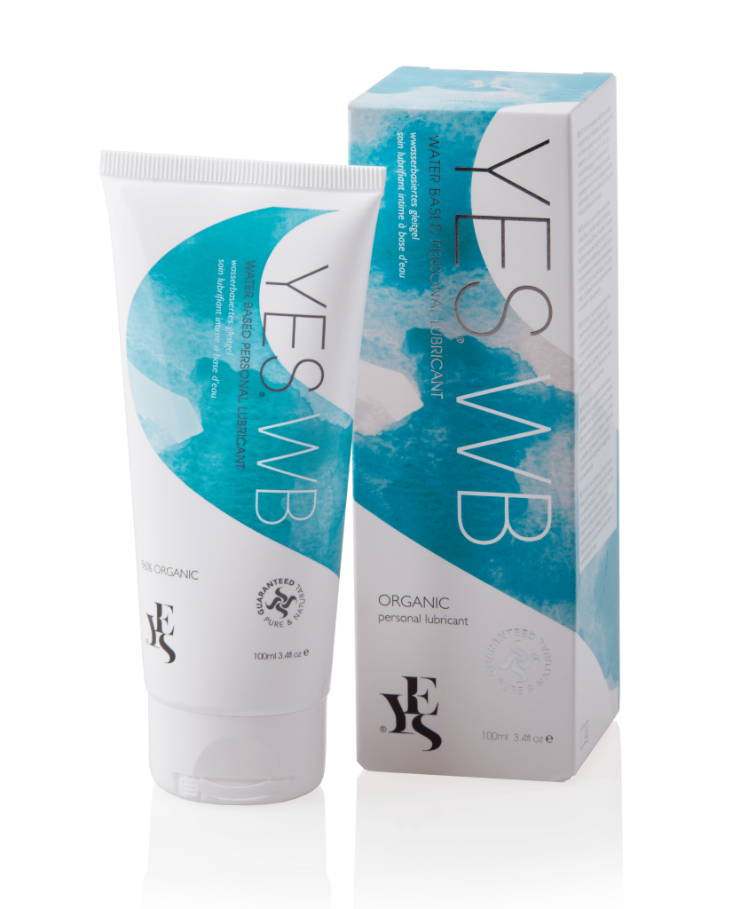 YES natural water based personal lubricant 100ml tube