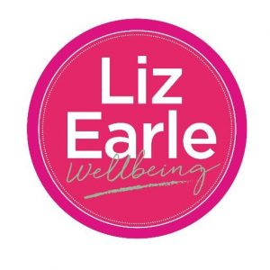Liz Earle wellbeing logo for YES feature