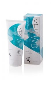 YES WB water based natural lubricant tube