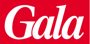 Gala logo for YES feature